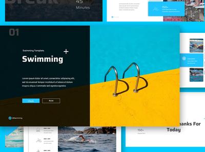 Swimming Google Slides Presentation