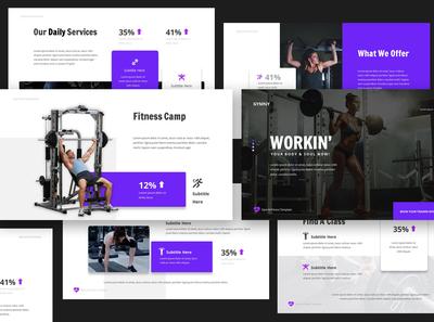Gym & Fitness Keynote Presentation