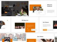 Online Course Powerpoint Template