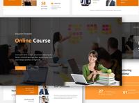 Online Course Google Slides Template