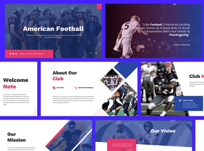 American Football Powerpoint