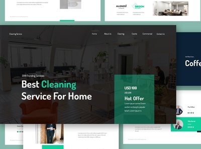 Cleaning Service Google Slides