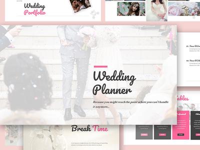 Wedding Organizer Google Slides Template