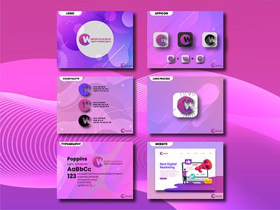 WEBTOOL Brand Guideline company logo logo design branding business logo design company logo design logo landing page brand identity brand guideline business logo