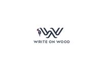 Write on wood