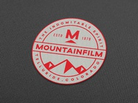 Mountainfilm Patches