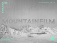 Mountainfilm 2017 Poster