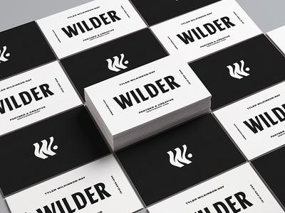 Wilder logo identity branding