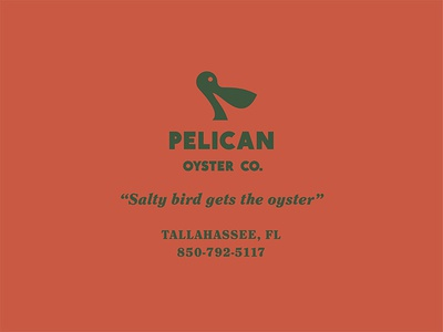 Pelican Scrap shuck pelican oyster no thanks mark bird