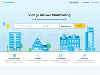 Web illustrations for a dutch rental marketplace.