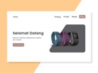 Toko Jam ui typography branding web