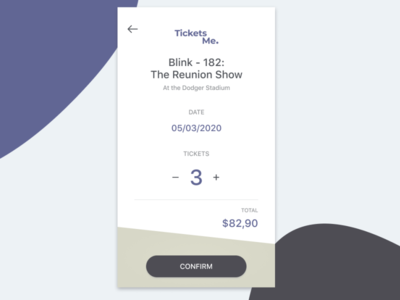 Daily UI #54 - Confirm Reservation