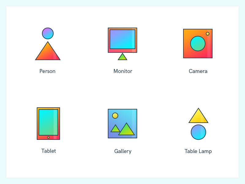 Icon Set 6 by Montu Yadav on Dribbble