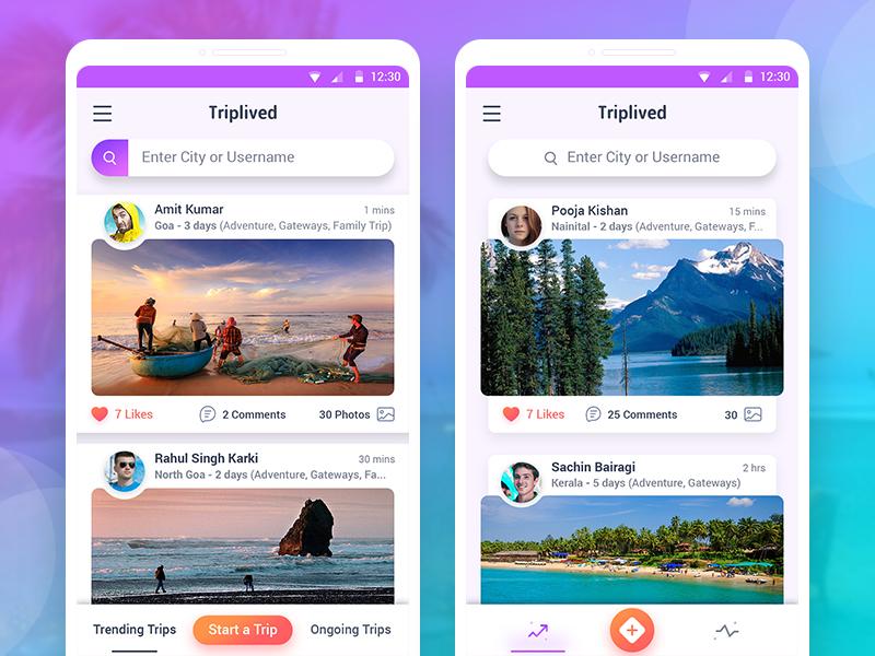 Triplived redesign concept