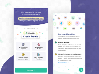 Credit Funds finance android app android application android app design android android app loan against mutual fund mutual fund loans loan finance finance app
