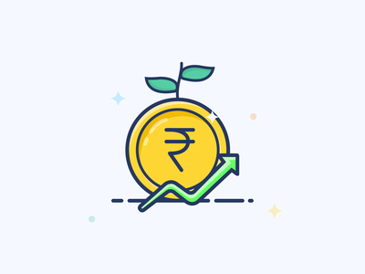 Direct Flow Grow Funds Icon
