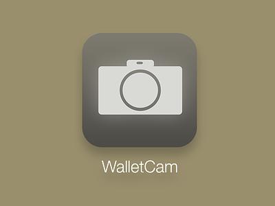 Walletcam Icon icon ios7 ios app