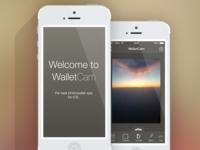 WalletCamera UI Splashscreen + Editor