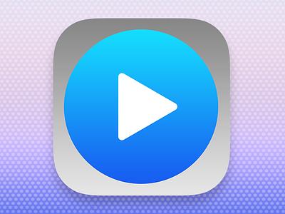 Icon Movieplayer App 2 icon ios7 ios app iphone ipad movie player