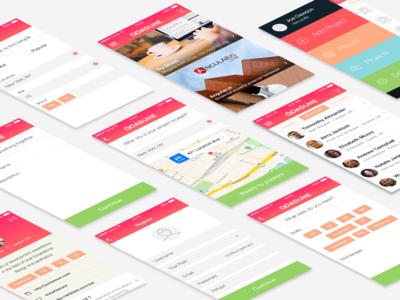 Adune [iOS] App Complete UI
