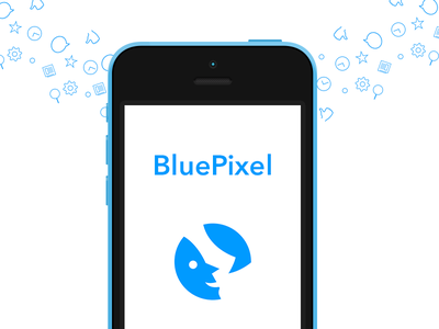 Bluepixel Promo app ios ios 7 blue iphone ipad designer news