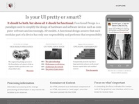 Adding Meaning to a Home Page