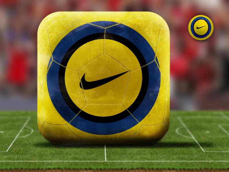 Kick-Off winter soccer ball nike icon