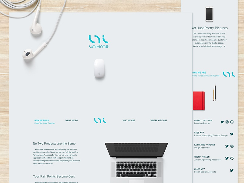 uni Scam Ad uni zrille color website work ui logo illustration flat design studio app