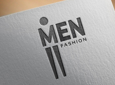 Men fashion logo design