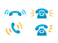Ringing Phone Icons