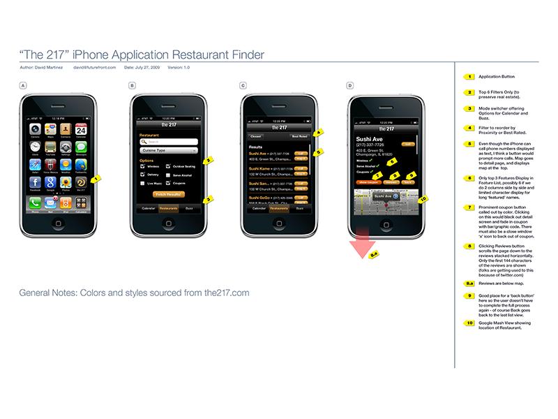 Restuarant Finder App finder restaurant ios iphone app