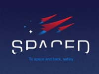 SPACED Logo for Dribbble by David Martinez