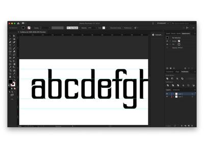 Cut Typeface