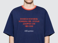 AliExpress t-shirt