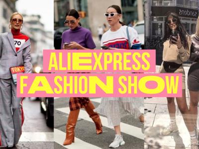 AliExpress Fashion show