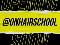 On hair school visual