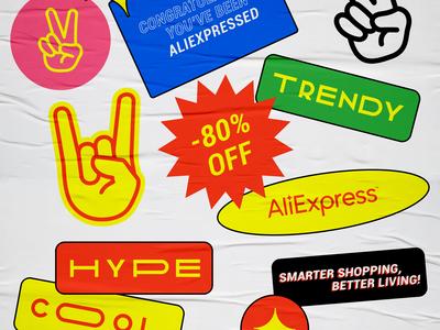 AliExpress sticker pack