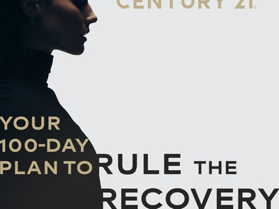 Rule the Recovery Facebook ad image training rule realogy real estate photoshop indesign graphic design design course class century 21 business agent