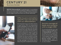 Century 21 Business Builder Flyer