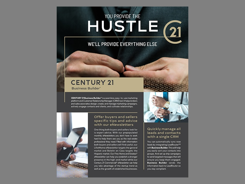 century 21 business builder flyer by paul shryock
