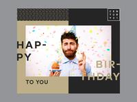 Century 21 Birthday Greeting - Work in progress