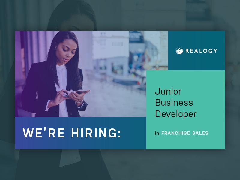 Realogy talent acquisition digital ad acquisition talent hiring franchise sales business developer junior business developer real estate human resources hr realogy