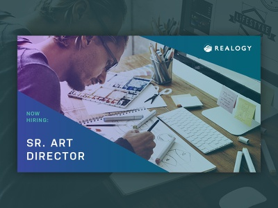 Realogy talent acquisition digital ad senior art director art director marketing acquisition talent hiring real estate human resources hr realogy
