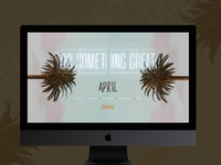 """Do Something Great"" April desktop wallpaper"