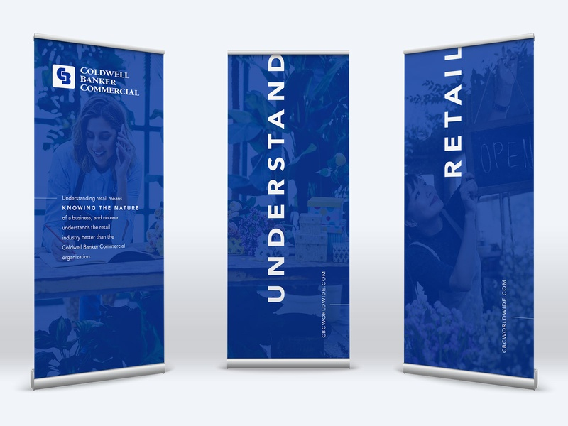 Coldwell Banker Commercial ICSC RECon 2019 Booth Graphics