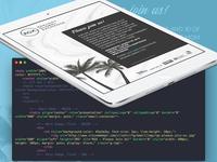 RGX CEO Reception Invitation HTML Email