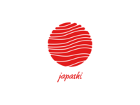 Logo for a fictional Japanese Sushi Place