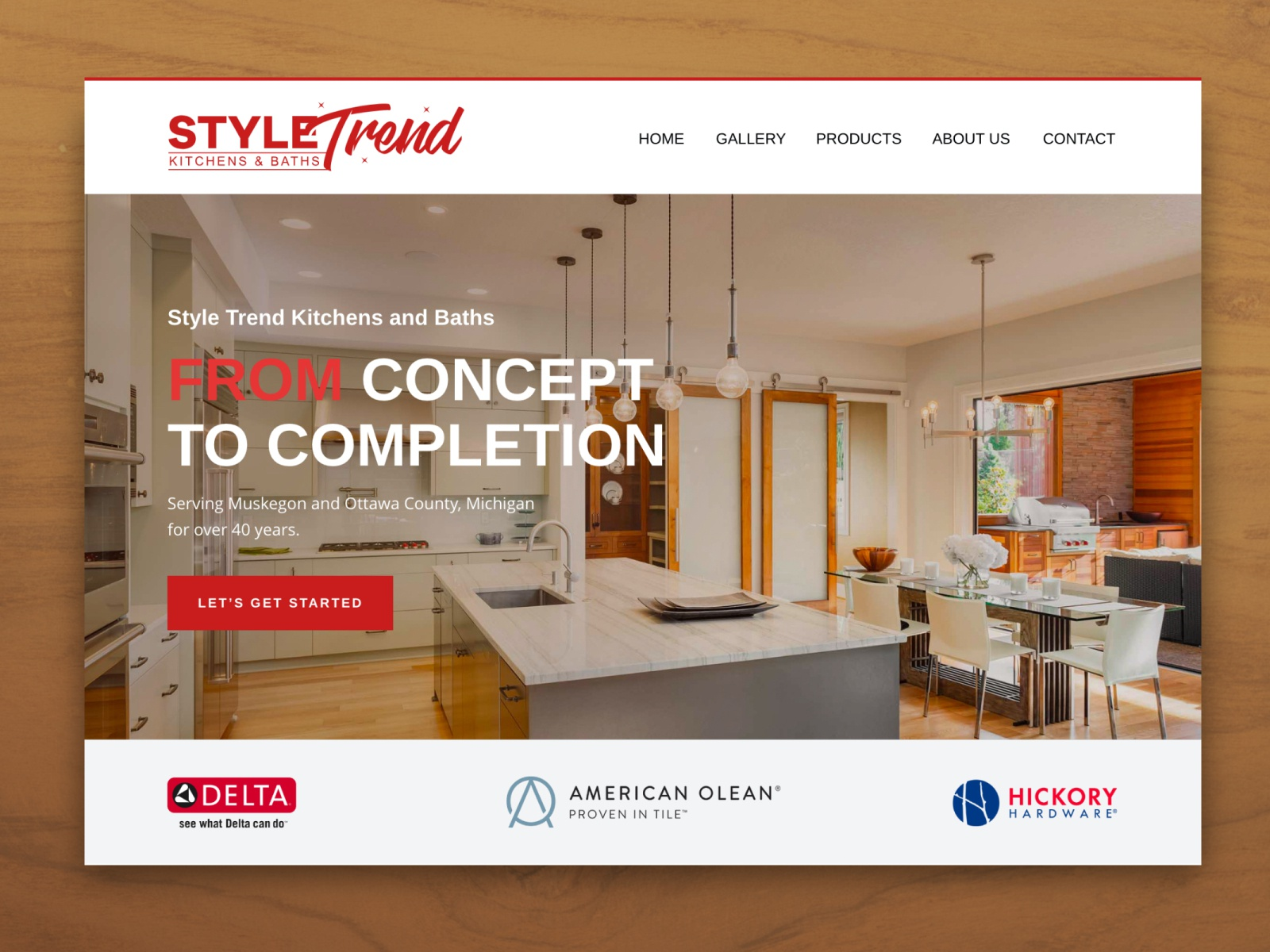 Style Trend Kitchen Baths Banner By Shama Mae Penaflor On Dribbble