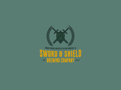 Sword & Shield Brewing Co. Logo Design