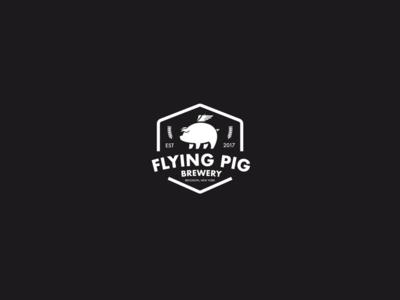 Flying Pig Brewery Logo
